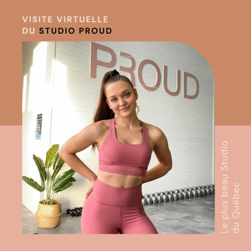 Visite virtuelle du Studio d'entraînement PROUD à Trois-Rivières